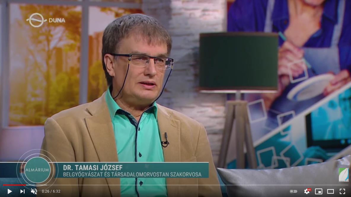 Időskor és az elhízás kapcsolata, dr. Tamasi József